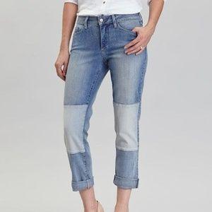 NYDJ Skinny Jeans Karmin Patch